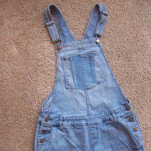 American Rag Overall / Boho Jeans SZ -1